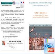 """Télécharger la plaquette de présentation du projet """"Langue et insertion professionnelle des réfugiés"""""""